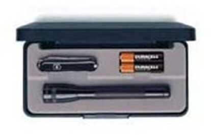 Maglite Mini-Mag Flashlight Classic Combo, Victorinox, AA M2A49L