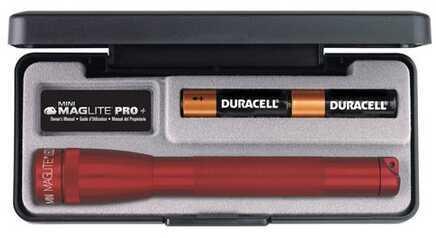 Maglite Mini Mag LED Pro + Red, Presentation Box SP+P037