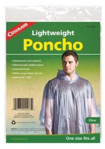 Coghlans Poncho -- Clear 9266