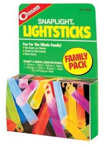 Coghlans Lightsticks - Family Pack - Package of 8 - 4 9848