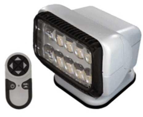 GoLight Permanent Mount Radioray LED w/Remote,White 20004