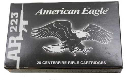 Federal Cartridge Federal Eagle 223 Rem 55gr FMJ 20 Rounds AE223J