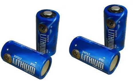 ASP CR123A Lithium Batteries (12)Box 03028