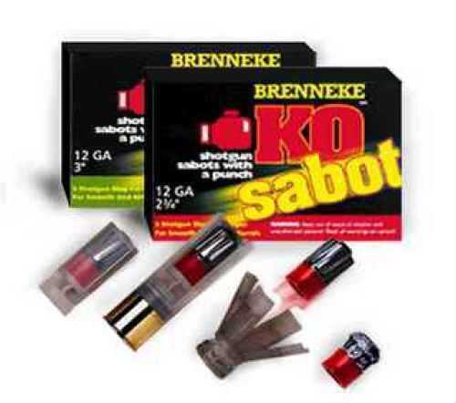 "Brenneke KO Sabot Slug 12 Gauge, 2.75"" (Per 5) SL-122KOS-1211822"