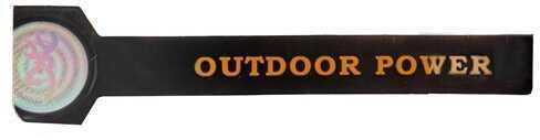 AES Outdoors Team Realtree Outdoor Power Bracelet Large, Black RT-PB-L-BLK