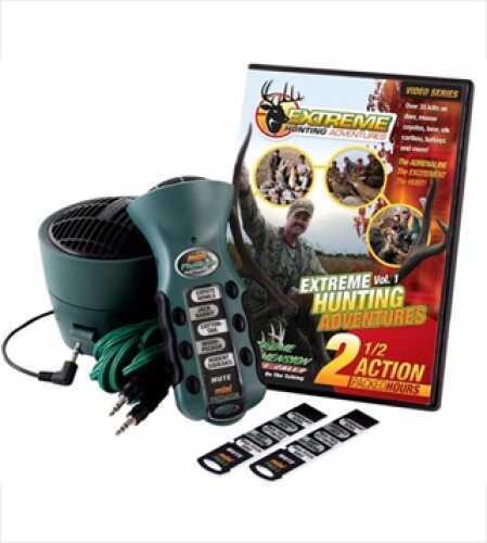 Extreme Dimension Wildlife Mini Predator Crow, Turkey, Speaker & DVD Combo ED-MP-624