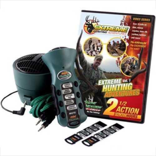 Extreme Dimension Wildlife Mini Predator Deer, Turkey, Speaker & DVD Combo ED-MP-625