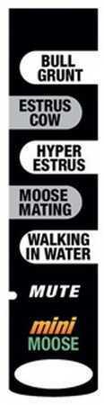 Extreme Dimension Wildlife Sound Stick Mini Moose ED-MSS-704