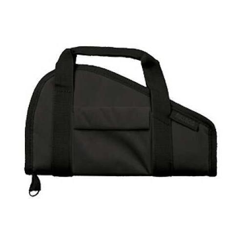 Bulldog Cases Pistol Rug Black, Large w/ Accessory Pocket BD602