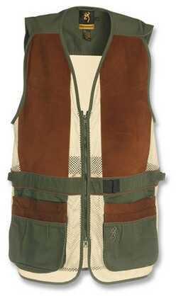 Browning Sandoval Vest Olive/Tan Large 3050285403