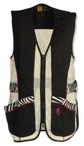 Browning Lady Sahara Black/Zebra Vest Large 3050683903