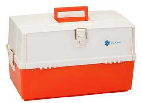 Plano XL Front Access 3 Tray Box Orange & White 747-004