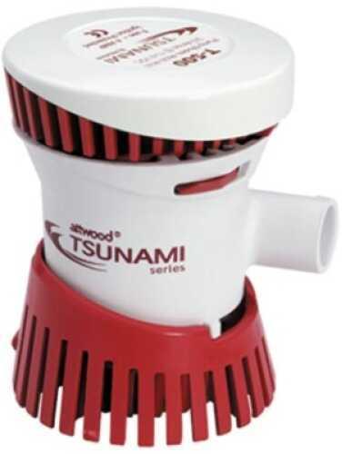Attwood Tsunami Bilge Pump 500gph 12V 3/4in Md#: 4606