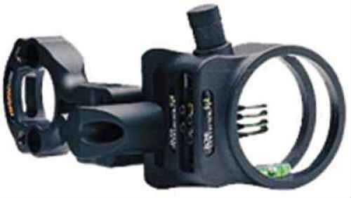 Apex Gear Apex Bow Sight Tundra Bone Col 4-Pin .019 Black W/Light BC1204CF