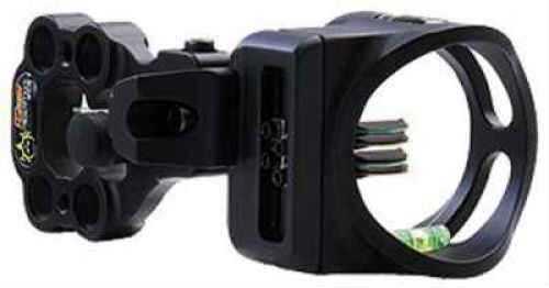 Apex Accu-Strike Bone Collector Sight W/Light 4 Pin RH/LH Black 4 Pin - .019''