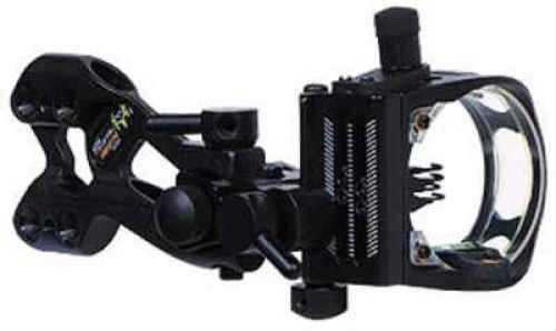 Apex Gear Apex Bow Sight Bone Collector Black 4-Pin .019/.010 W/Light BC4514CF