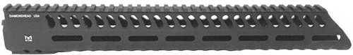 "Diamondhead USA Inc. VRS-T Series 3 Free-Floating M-LOK Handguard Rail Fits AR-15 13.5"" Black Finish 2286"
