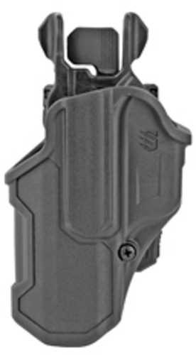 Blackhawk T-L2C Compact Holster Left Hand Glock 17/22/31 Black