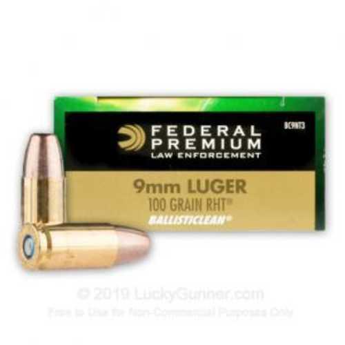 Federal 9mm Luger 100 Grain Frangible Per 50 Ammunition Md: Bc9Nt3
