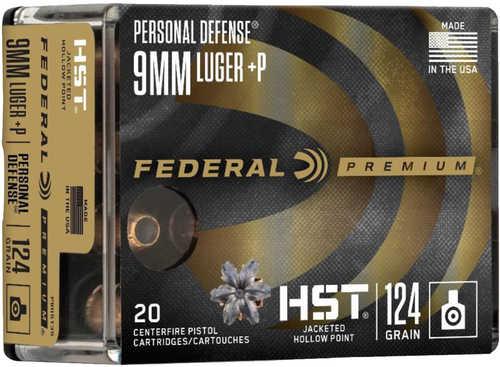 Federal HST 9MM 124 Gr JHP 20 Round Box