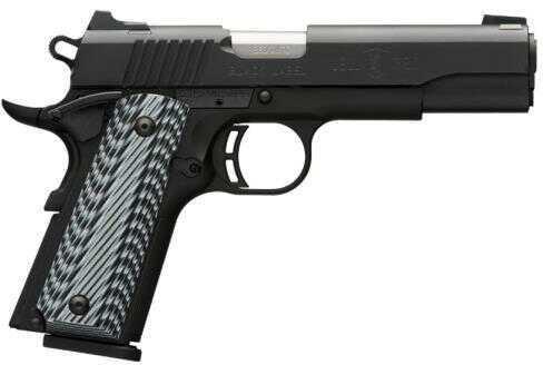 "Browning 1911-380 Black Label Pro 380 ACP Semi-Automatic Pistol 4.25"" Steel Matte Barrel 8-Round Magazine Capacity"