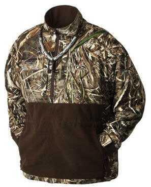 Drake Waterfowl Drake Eqwader 1/4 Zip Jacket Blades 2x Large