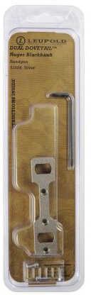 Leupold 1 Piece Handgun Base DD RBH Silver 53554