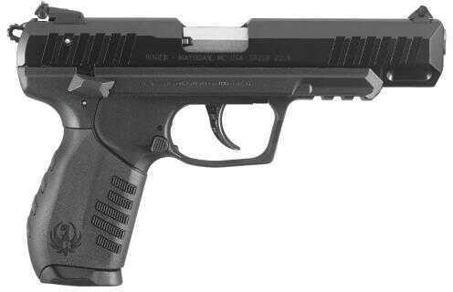 "Ruger SR22 Pistol 22 Long Rifle Pistol 4.5"" Barrel Black Polymer Alumimium Anodized Slide"