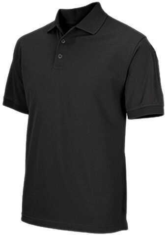 5.11 Inc Professional Polo, Short Sleeve Black, XXLarge 41060-019-XXL
