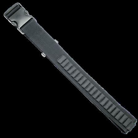 "Grovtec USA Inc. Grovtec US Inc Ammo Belt For Handgun Fits up to a 50"" Waist Black Elastic/N GTAC96"