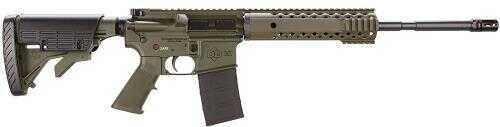 "Diamondback Firearms Rifle Diamondback DB15 223 Rem/5.56 NATO AC Flat Top 16"" Barrel 30 Rounds Olive Drab Green, Worn"