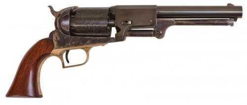 "Cimarron Whitneyville Dragoon Percussion Revolver 44 Caliber 7.5"" Barrel Case Hardened Steel Brass Walnut Grip"