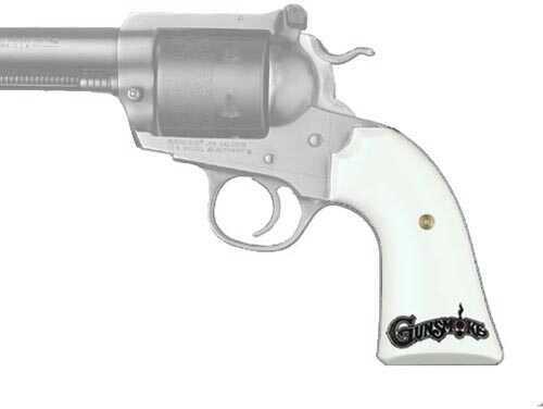 Hogue Ruger Bisley Scrimshaw Ivory Polymer Gunsmoke 89034