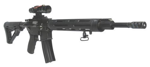 "Colt Competition 5.56mm NATO 16"" Heavy Barrel M4 Stock 30 Round Mag Semi Automatic Rifle"
