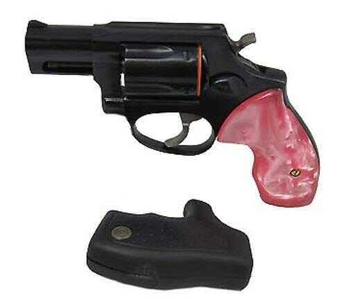 "Taurus 85 38 Special 2"" Blued Barrel Pink Pearl Grip Revolver 2850021PP"