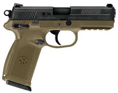 FNH USA FNX-40 DA/SA Manual Safety, 40 S&W 14 Round Capacity Flat Dark Earth/Flat Dark Earth Semi Automatic Pistol  66924