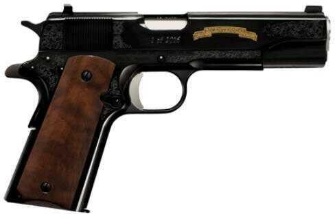 "Remington Firearms 1911 R1 200th Year Anniversary 45ACP 5"" Barrel 7 Round Walnut Grip Black Finish Semi Automatic Pistol"
