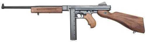 "Auto-Ordnance TM110S Thompson M1 45 ACP 16.5"" Barrel 10 Round (MD NJ MA Legal) Walnut Stock Blued Finish Semi-Auto Rifle TM110S"