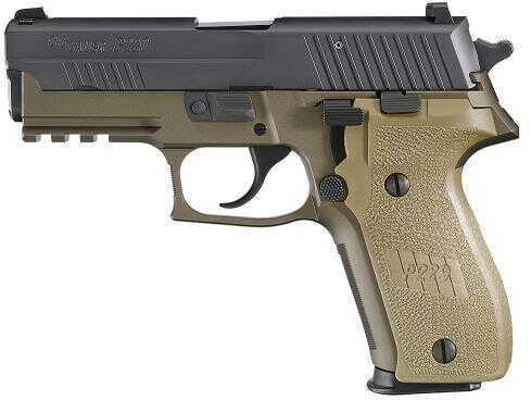 "Pistol Sig Sauer P229R Combat 9mm Luger 3.9"" Barrel 15+1 Rounds Flat Dark Earth NS"