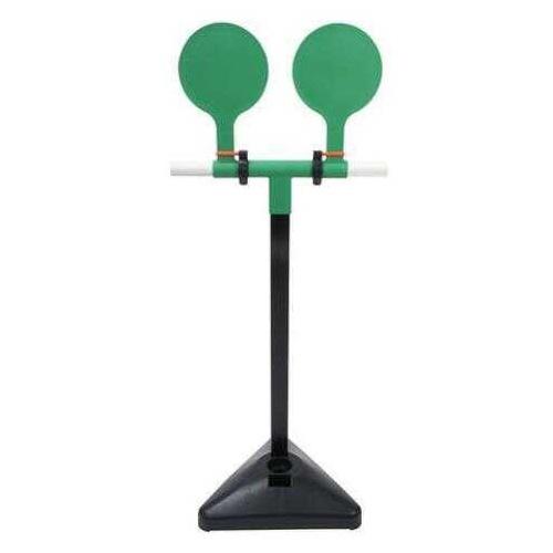 FAB Defense RTS Dual Falling Racket Reactive Target System - Green