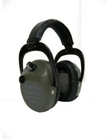 Pro Ears Pro Tac SC Gold Green, Lithium 123 Battery GS-PTSTL-L-G