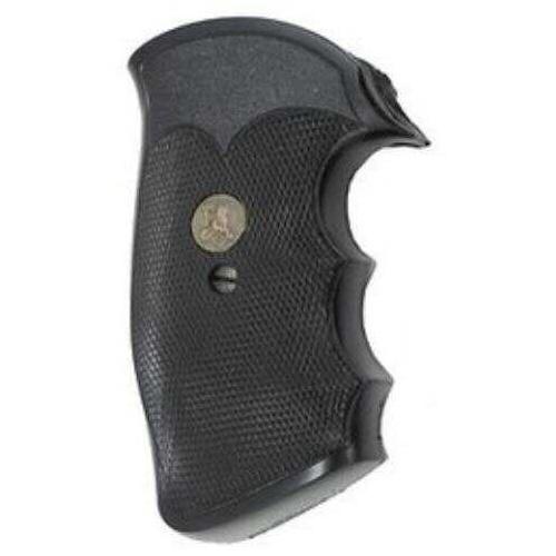 Pachmayr Grip Gripper Fits Colt I Frame Black 2528