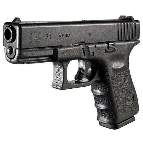 "Glock 23 Gen 3 Compact Pistol 40 S&W 4"" Barrel 13 Round  2 Mags Rebuilt   Semi Automatic"