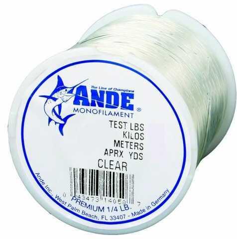Ande Line Ande Premium Mono Line Clear 1/4lb 40# Md#: PC1/4-40