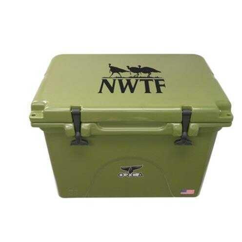 Outdoor Recreation Group ORCA 58 Quart NWTF-Natl Wild Turkey Federation Cooler -Green