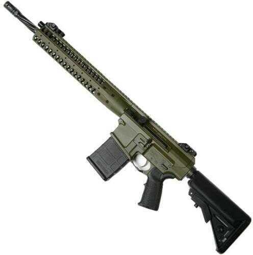 "Rifle LWRC REPR 308 Win/762NATO 16"" Barrel 20 Rounds OD Green"