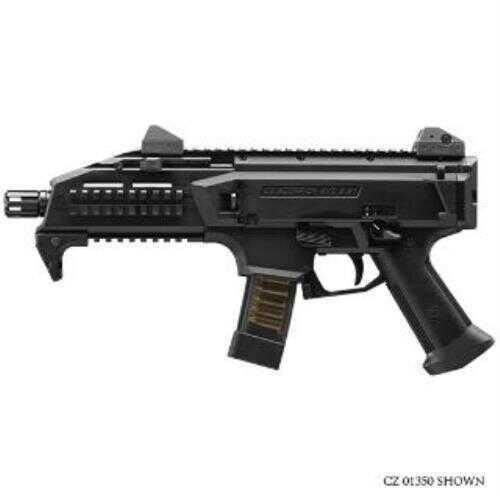"CZ USA CZ-USA Scorpion EVO 3 S1 Semi-Auto Pistol 9mm Luger, 7.72"" Barrel 10+1 Magazine Capacitym Fiber-Rein"