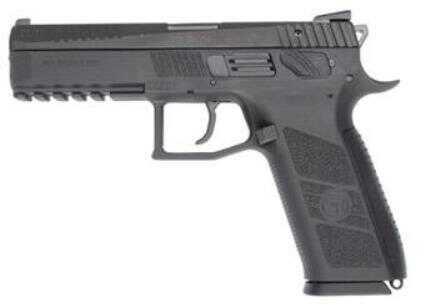 "CZ USA Pistol CZ P-09 Semi-Auto DA Full 9mm Luger 5.23"" Polymer Black 19 Rounds Threaded Suppressor Ready Fixed Sights"