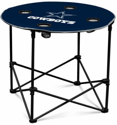 Logo Chair Dallas Cowboys Round Table