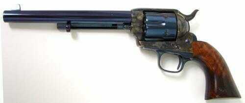 """Cimarron Old Model P Revovler 7 1/2"""" Barrel .45 Colt Walnut Grips Charcoal Blue Finish Revolver"""